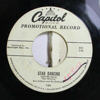50'S & 60'S Promos 45 Roy Anthony And His Orchestra - Star Dancing / Moonlight D