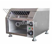 Adcraft Conveyor Toaster Dual Side Wide Belt Stainless Steel - Cvyt-120