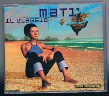 Matì MATI' IL VIAGGIO (ENRICO RUGGERI ANDREA MIRO') CD SINGOLO cds SIGILLATO!!!