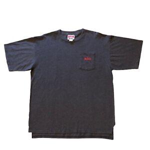 Vintage Marlboro Stripe Pocket Tee XL Cigarette Shirt