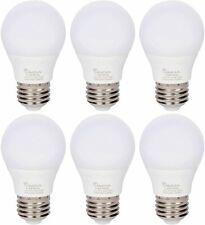 [6 Pack] LED A15 Refrigerator 4W 120V 40W Equivalent Bulbs E26 5000K Daylight