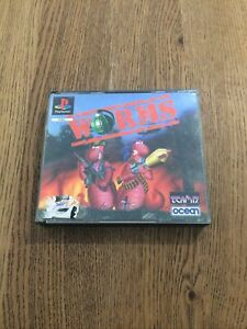 WORMS Sony Playstation 1 Game PS1