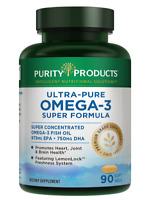 Ultra Pure Omega 3 Super Formula - 90 Softgels - Purity Products