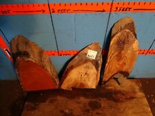 #A451  3 live edge Slabs spalted maple cherry beech shelf table crafts art