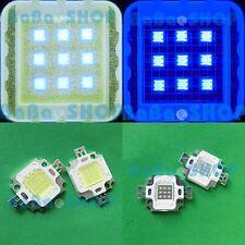 10pc 10W Cool White 20000K + 10pc 10W Royal Blue 455nm LED Lamp Light Aquarium