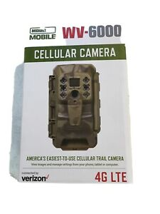 Moultrie Mobile Cellular Verizon 4G LTE Integrated Game Trail Camera WV-6000 NIB