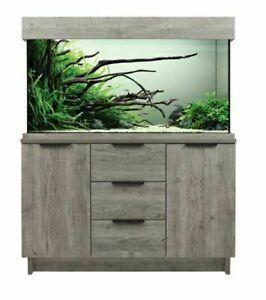 Aqua One Urban Oak Style Aquarium Fish Tank with Cabinet With LEDs 116cm 230L