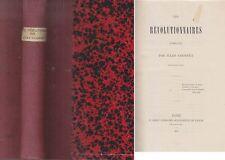 C1 REVOLUTION Jules COURTET Les REVOLUTIONNAIRES 1789 1795 Relie 1873