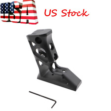 US Vertical Angled Foregrip Skeletonized Keymod Grip Picatinny Rail Mount Grip