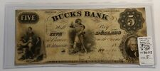 Bucks Bank of Tennessee 5 Five Dollar G-517 90-G2