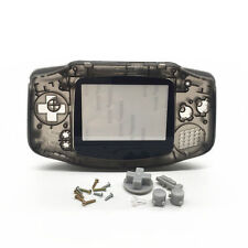 New Full Housing Shell Button Parts for Gameboy Advance GBA Repair Clear Black