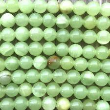 Green Calcite 8mm Smooth Round Ball Semi Precious Stone Q24 Beads per Pkg