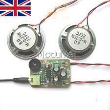 Amplificador de audio amplificador Kit de Hágalo usted mismo Producción Electrónica Suite TDA2822M AMP-1 Mo
