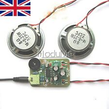 Audio Amplifier DIY Kit Amplifier Electronic Production Suite TDA2822M AMP-1 MO
