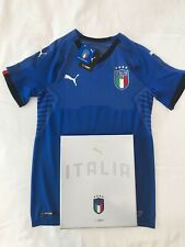 Puma Italy Authentic Player Edition home Jersey Shirt Maglia Italia soccer NEW