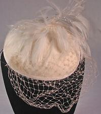 Alex Wilson of California English-type fascinator hat