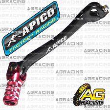 Apico Black Red Gear Pedal Lever Shifter For Honda CRF 450X 2011 MotoX Enduro