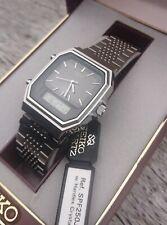 Vintage Seiko H449-502A Ana Digital Chronograph Lcd Watch Box & Tags 1981