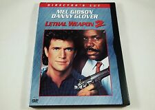Lethal Weapon 2 DVD Director's Cut Mel Gibson, Danny Glover, Joe Pesci