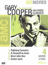 Gary Cooper Classics (DVD, 2003, 2-Disc Set AMC) 4 Movies Film Collection NEW