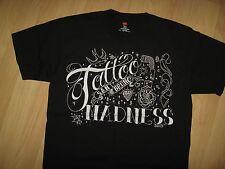 Tattoo Madness San Bruno California Tribal Body Art Bleed 2010 NWOT T Shirt Med