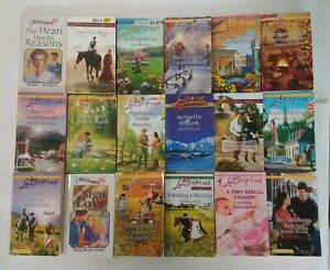 Love Inspired / Heartsong Inspirational Romance Books lot of 10 random titles