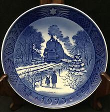 1973 Royal Copenhagen Christmas Plate - Going Home for Christmas