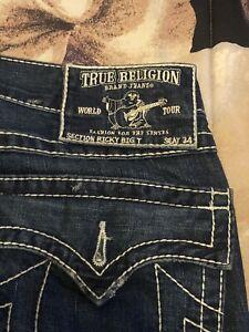 true religion jeans 36x34