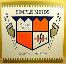 """SIMPLE MINDS - Sparkle - '81 PROMO 12"""" x 12"""" thin cardboard cover slick / poster"""