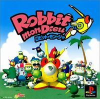 Robitto MonDieu PS1 Whoopi camp Sony Playstation 1 From Japan