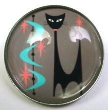 "Little Girl Playing w Cats Crystal Dome Button LgSz 1 /& 3//8/""  CB 06 FREE  SHIPP"
