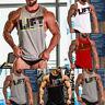 Herren Muskelshirt Tank Tops Achselhemd Gym Sport Shirt T-Shirt Bodybuilding Top