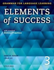 Elements of Success with Essential Online Practice Bk. 3 by Anne M. Ediger...