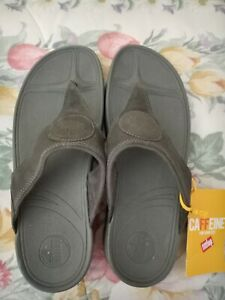 FITFLOP WALKSTAR Women's Size 11 Gray wedge Sandal NEW