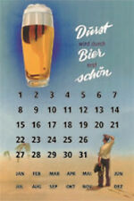 Panneau métallique 20x30 cm Bi-earth birth Durst (Soif) est en cas de Bière