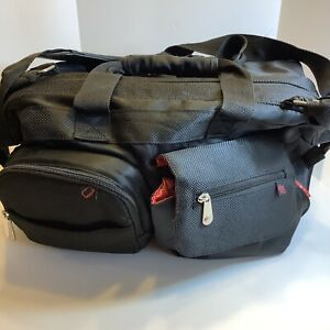 """Fisher price black  diaper bag, 15"""" X 12"""", Very Clean, Excellent"""