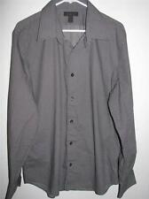 EXPRESS DESIGN STUDIO MODERN FIT LONG SLEEVE BUTTON FRONT SHIRT XL 17-17 1/2