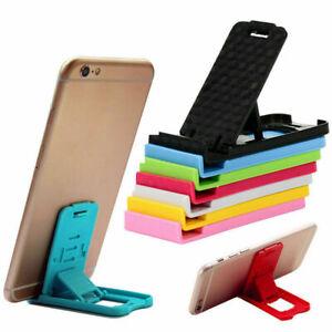 1 PCS Universal Foldable Cell Phone Desktop Stand Holder X4L0 Bracket Mini .
