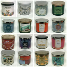 Bath & Body Works 3-Wick Candles << CHOOSE >> New Varieties Added!!