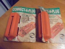 connect-a-plug covers extension cord plugs Never comes unplugged while you work