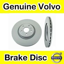 Genuine Volvo S80 (-06) Front Brake Discs (305mm Diameter) (Pair)