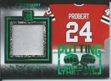 2017 Leaf ITG In The Game Used Jersey BOB PROBERT Putting on The Foil 4/9 Green