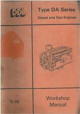 DORMAN MOTORE-DA SERIE - 3DA, 4DA, 6DA, 6dat, 8DA Workshop Service Manual