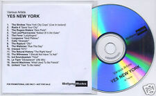 YES NEW YORK UK promo test CD Strokes Rapture LCD Sound
