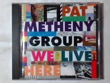 PAT METHENY GROUP We live here cd GERMANY LYLE MAYS