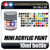 81502 Tamiya Acrylic Mini X-2 White Mini Acrylic Paint Modeling Model Crafting