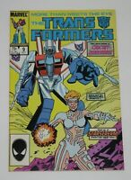 Transformers #9 1st Appearance Circuit Breaker 1st Ptg 1985 Marvel Comics FN