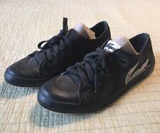 Lacoste Black Canvas Casual Shoes Large Croc Logo L33 53K BRS 510