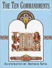 THE TEN COMMANDMENTS ILLUSTRATED BY ARTHUR SZUL Holy Bible Christianity Religion