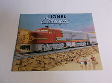 COLLECTIBLE 1997 LIONEL CLASSIC TRAIN CATALOG  *FREE SHIPPING USA**  VG-COND